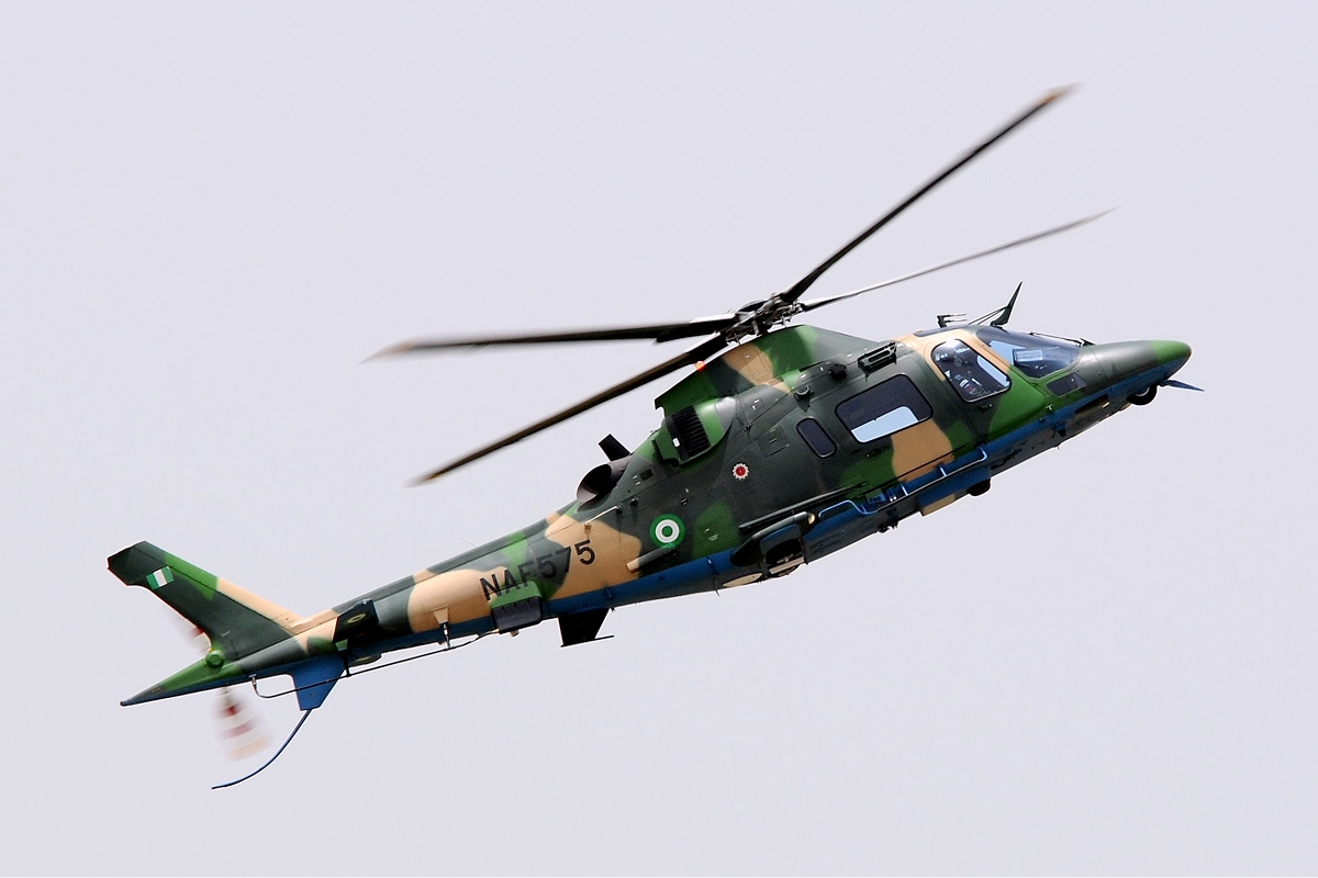NAF Helicopter Crashes in Lagos