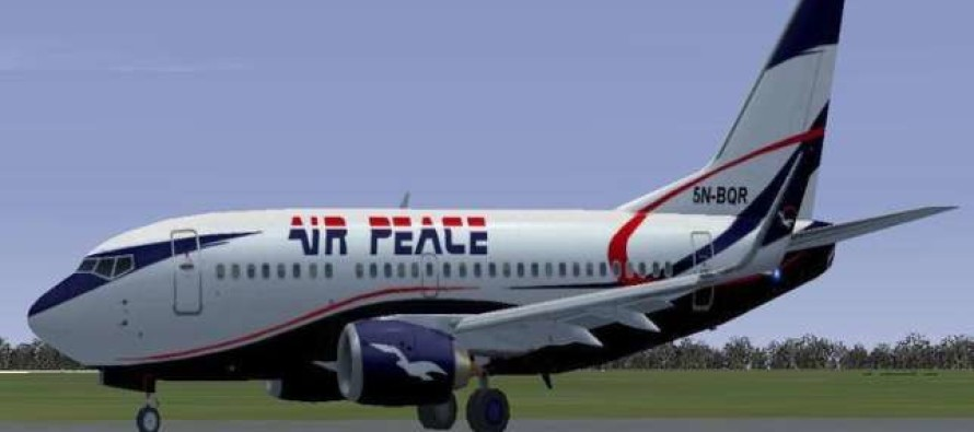 Nigerian airline, Air Peace, takes delivery of additional B737 aircraft